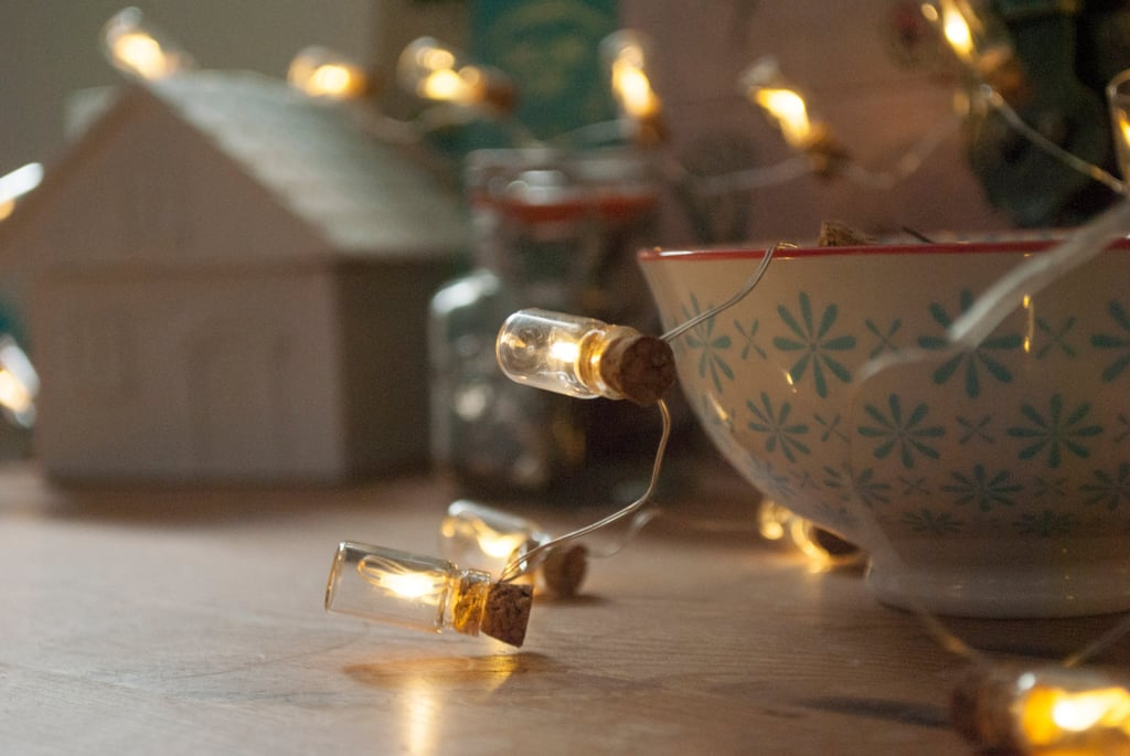 Glass Bottle Fairy Lights