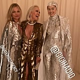 Rita Ora Posed With Kate Moss and Gigi Hadid