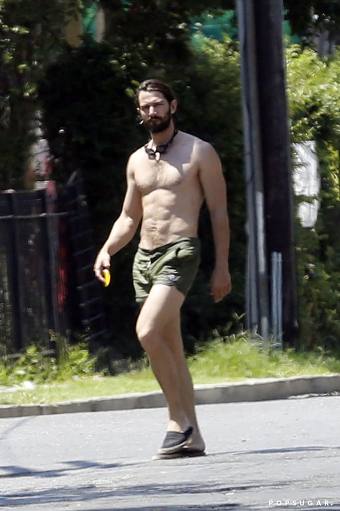 Michiel Huisman Shirtless in New Orleans 2015 Pictures
