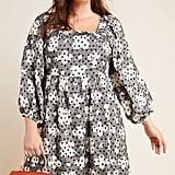 Jane Textured Babydoll Dress
