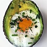 Egg in an Avocado