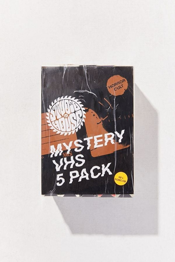 Urban Outfitters Is Selling Mystery VHS Tape Sets, and Our '90s-Loving Hearts Can't Take It