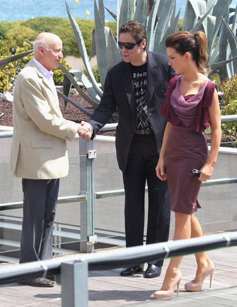 Pictures of Cate Blanchett, Russell Crowe, Kate Beckinsale, Benicio Del Toro, and Tim Burton at the 2010 Cannes Film Festival