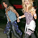 Adam Levine at Maroon 5's 2014 Halloween Party | Pictures
