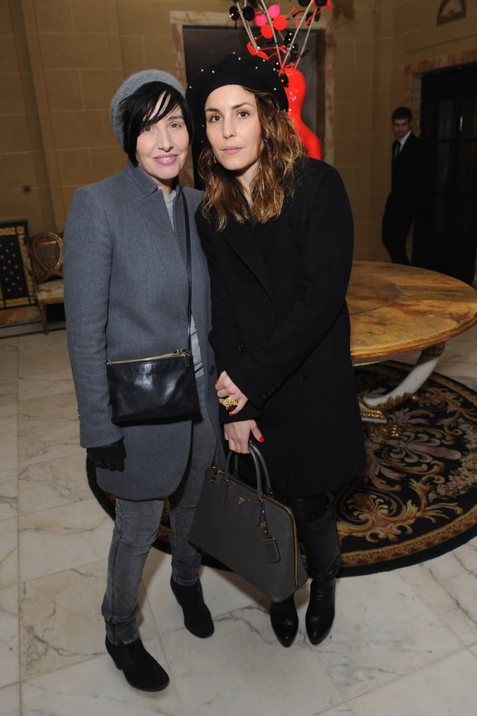 Sharleen Spiteri and Noomi Rapace attended the-miumiu-london day two.