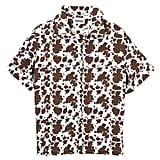 Holiday the Label Bowling Shirt Cowhide