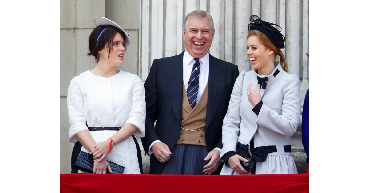 prince andrew  princess eugenie  and princess beatrice