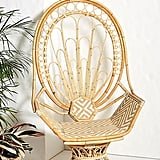 Justina Blakeney Peacock Rattan Chair