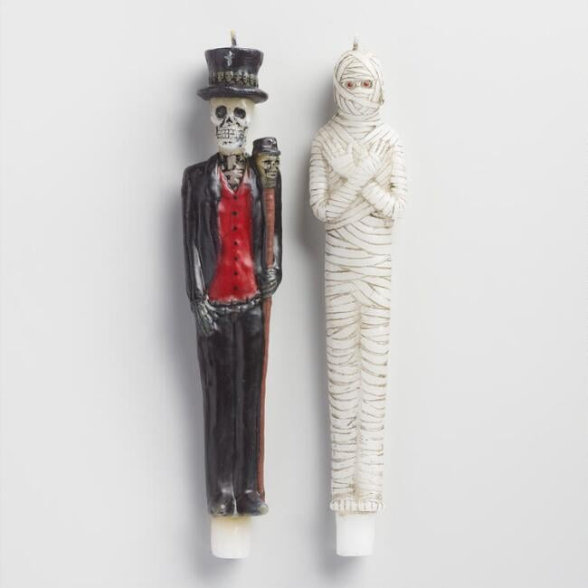 Bayou Character Taper Candles Set Of 2 ($10)