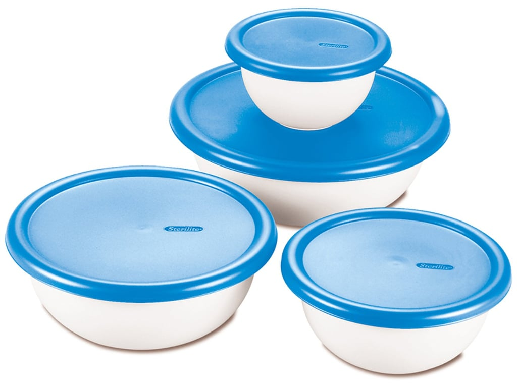 Sterilite 8 Piece Covered Bowl Set