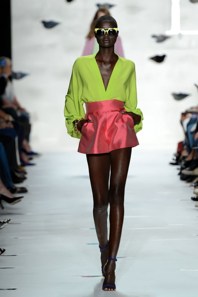 2013 Spring New York Fashion Week: Diane von Furstenberg