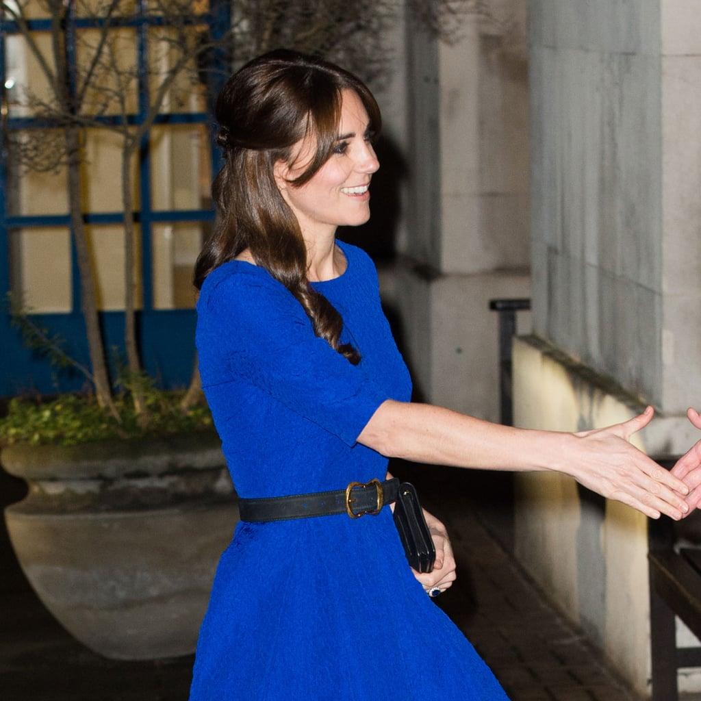 Kate Middleton Blue Dress Style