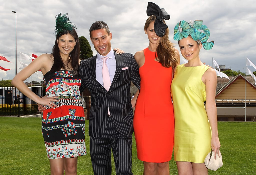 Lyndsey Rodrigues, Adam Williams, Jesinta Campbell and Jessica Tovey