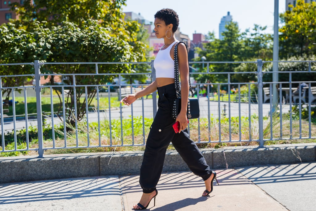 "Rule 24: Stilettos Make Tapered Pants ""Going Out"" Worthy"