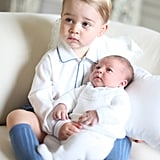 Kate took on photographer duties to capture her children together in May 2015.