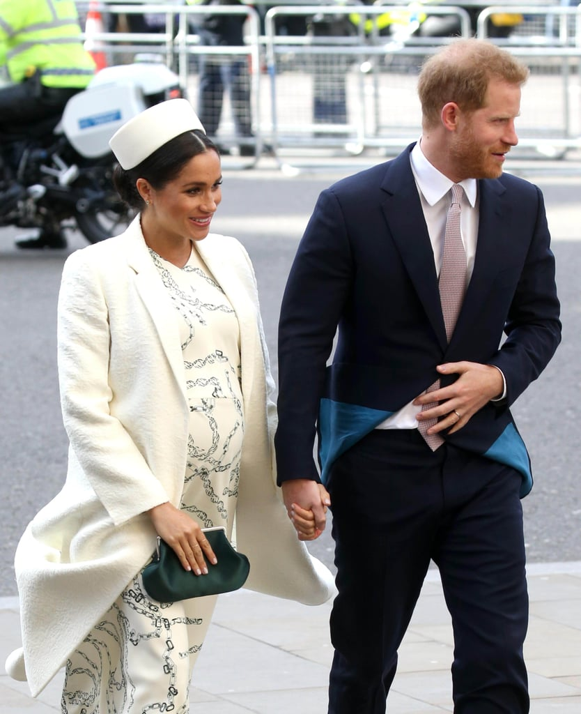Meghan Markle's White Hat At Commonwealth Day