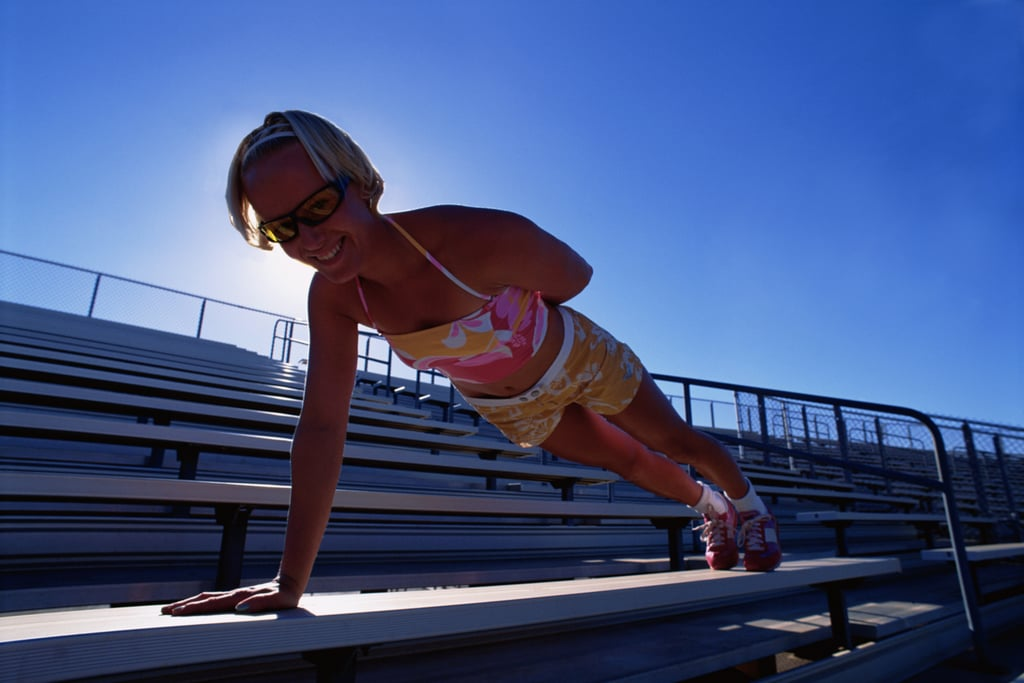 Do a Set of One-Arm Push-Ups (or Pull-Ups)