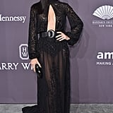 February at the amfAR Gala in New York City