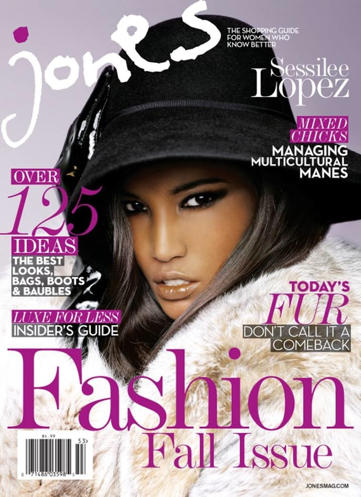 Sessilee Lopez on the Cover of Jones Magazine