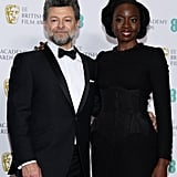 Pictured: Andy Serkis and Danai Gurira