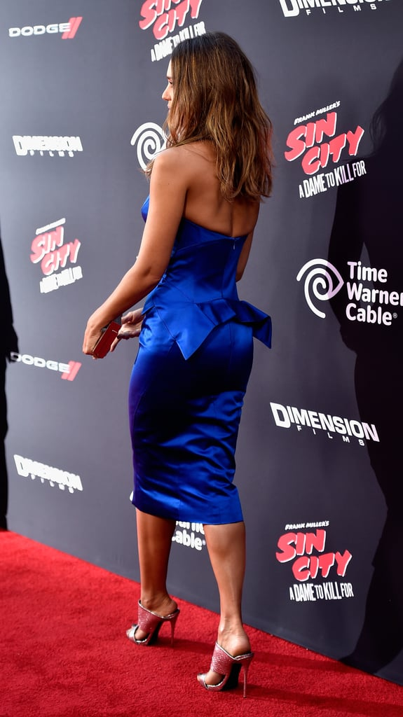 Jessica Alba From the Back