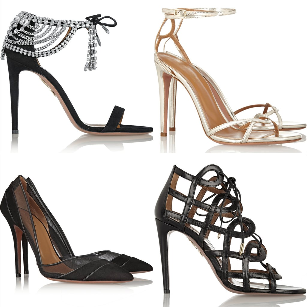 Olivia Palermo Aquazzura Shoes
