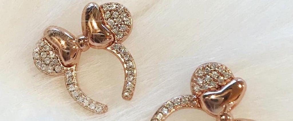 Disney Rose Gold Minnie Headband Jewelry 2019