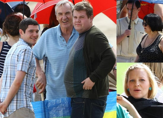 Photos Of The Gavin And Stacey Cast Filming The Third Series On The Beach In Barry