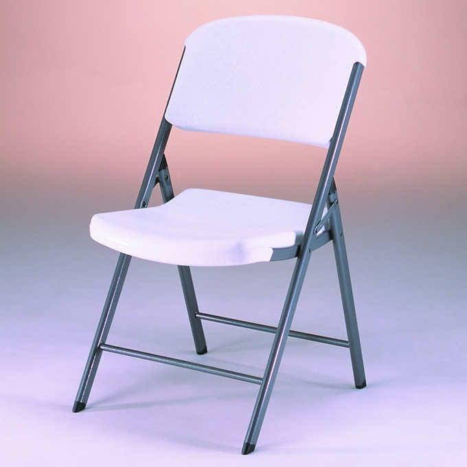 Lifetime Folding Chair, Set of 4
