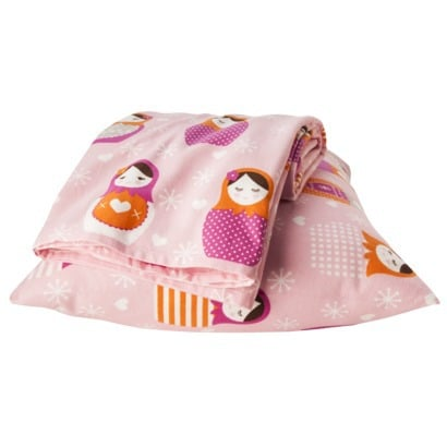 Circo Matroyshka Flannel Sheet Set