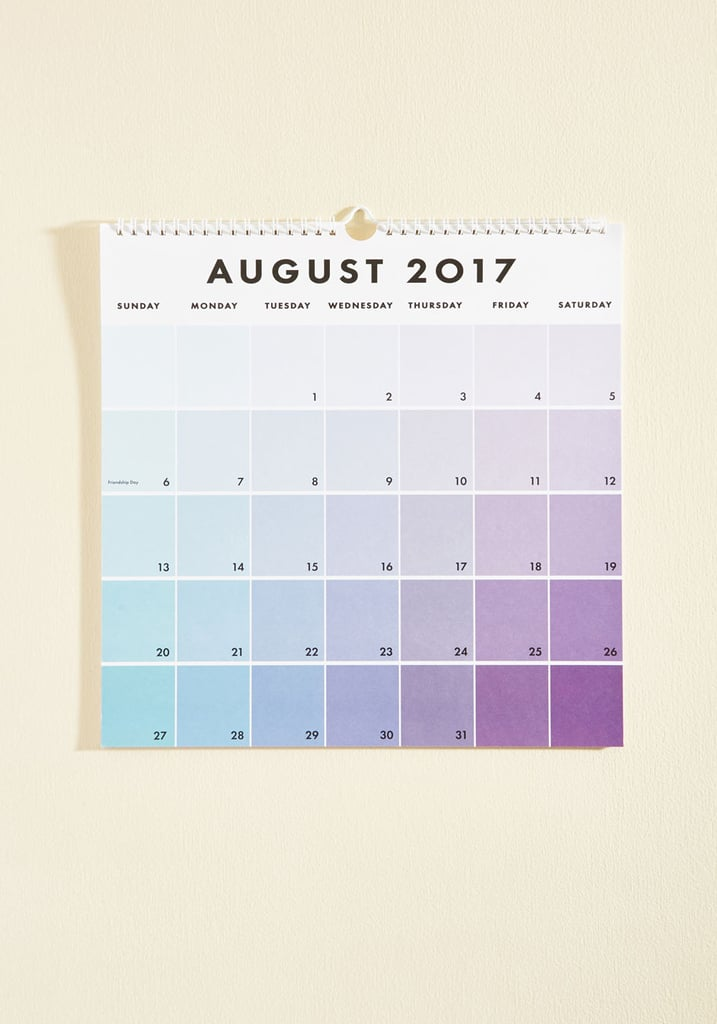 Tone Day at a Time 2016-2017 Wall Calendar ($30)