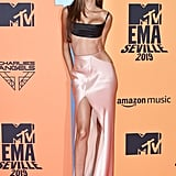 Joan Smalls at the 2019 MTV EMAs