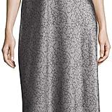 Vince Monochrome Silk Slip Dress