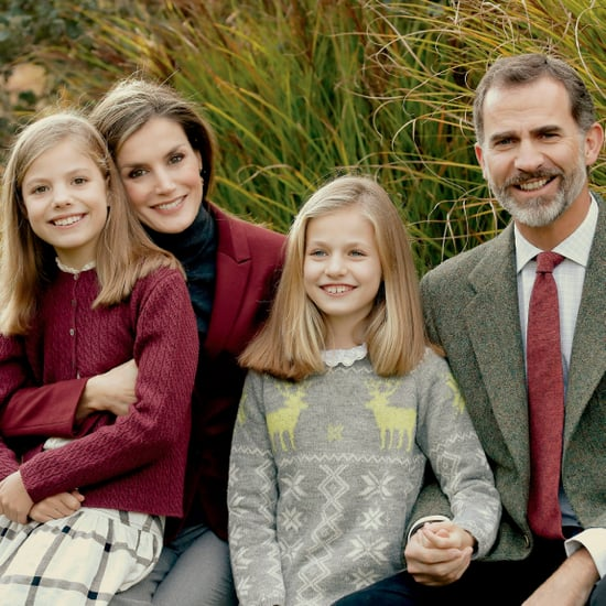 The Spanish Royal Family's Christmas Card 2016