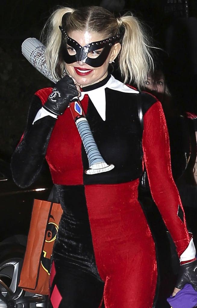 Fergie as Harley Quinn From Batman