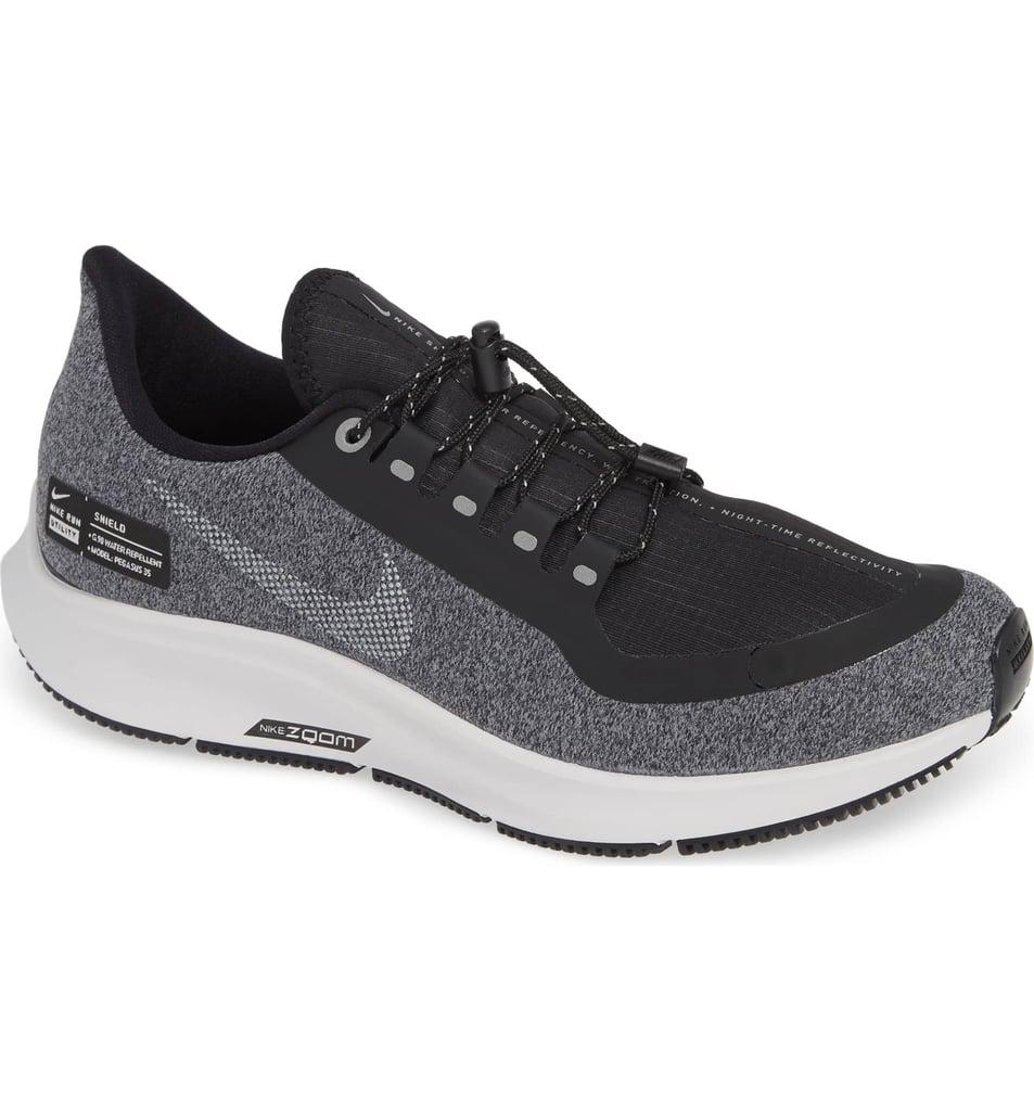 5e4d215765b9c Nike Air Zoom Pegasus 35 Shield GS Water Repellent Running Shoe ...