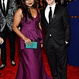 Mindy Kaling and BJ Novak at the Met Gala 2013.