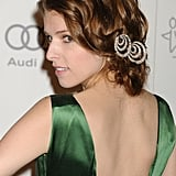 We've got an inkling that Anna Kendrick's hair jewels may have started life as earrings.