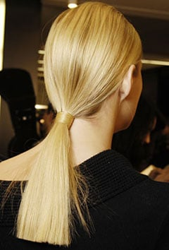 How To: The Perfect Low Ponytail