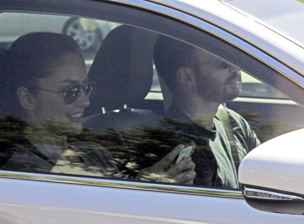 Chris Evans and Minka Kelly took a drive in his Lexus yesterday in West Hollywood. Minka, who was dressed down in workout clothes, flashed a wide grin as she and Chris chatted in the car. Chris then dropped her off in the LA neighborhood with her pooch. Minka was back out later in the day to run errands in a skirt solo.  Minka and Chris were spotted kissing on Monday outside an LA-area taco shop. The pair previously dated back in 2007 and were seen out together in both Boston and NYC again this August before their Mexican-food stop earlier this week. After her initial split from Chris, Minka became engaged to baseball star Derek Jeter, but the pair broke it off last year. Chris, whose career was kickstarted in 2011 when he appeared in Captain America, has kept his romantic life largely out of the public eye since breaking up with Minka. Despite that, he has been rumored to have dated celebrities from Stacy Keibler to Kate Bosworth over the years.