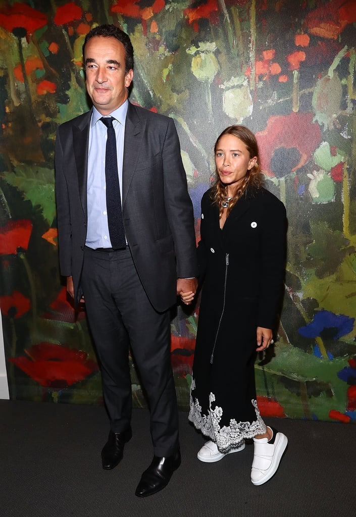 Mary-Kate Olsen Makes an Incredibly Rare Appearance With Husband Olivier Sarkozy