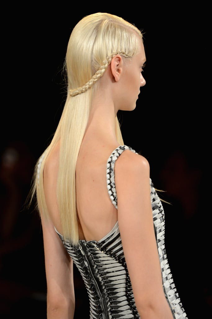 Plaits | Runway Hairstyles to Help Inspire Brides | POPSUGAR Beauty ...