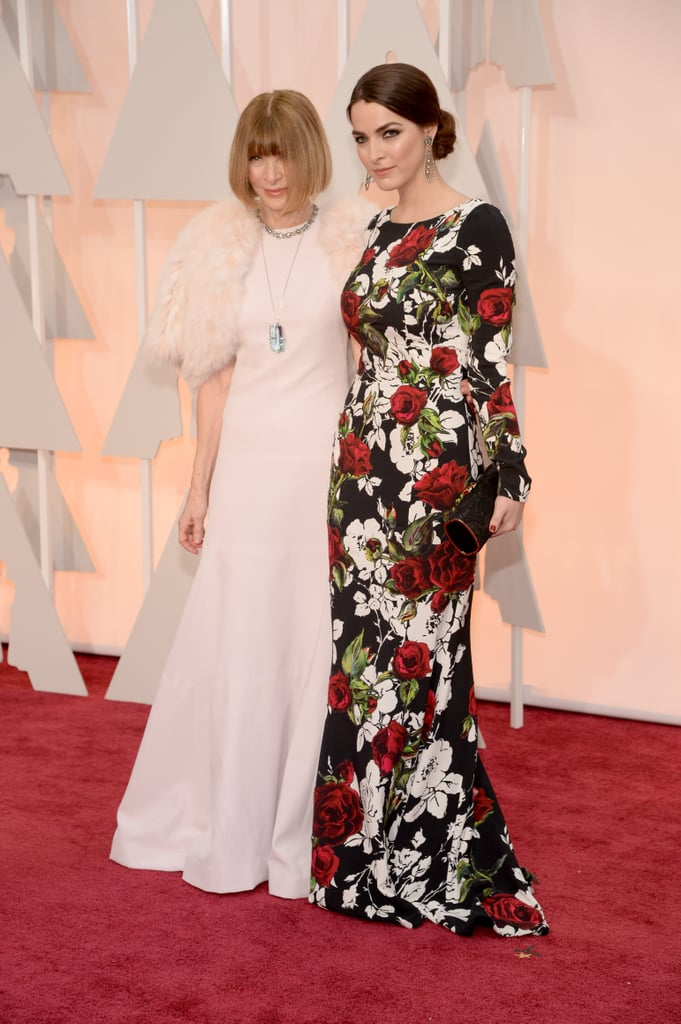 Bees Floral Dolce Gabbana Gown Stole The Spotlight At The Anna