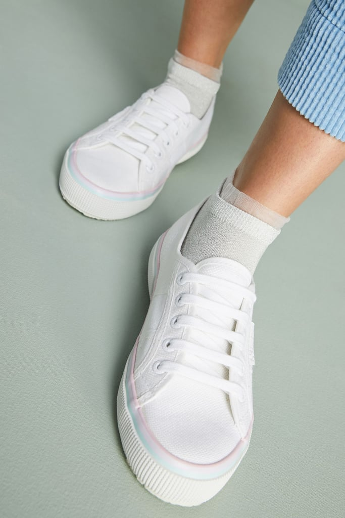 Superga Foxing Striped Sneakers