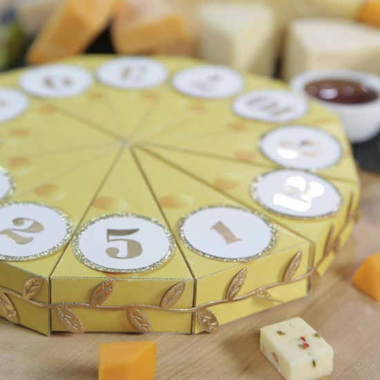 DIY Cheese-Filled Advent Calendar