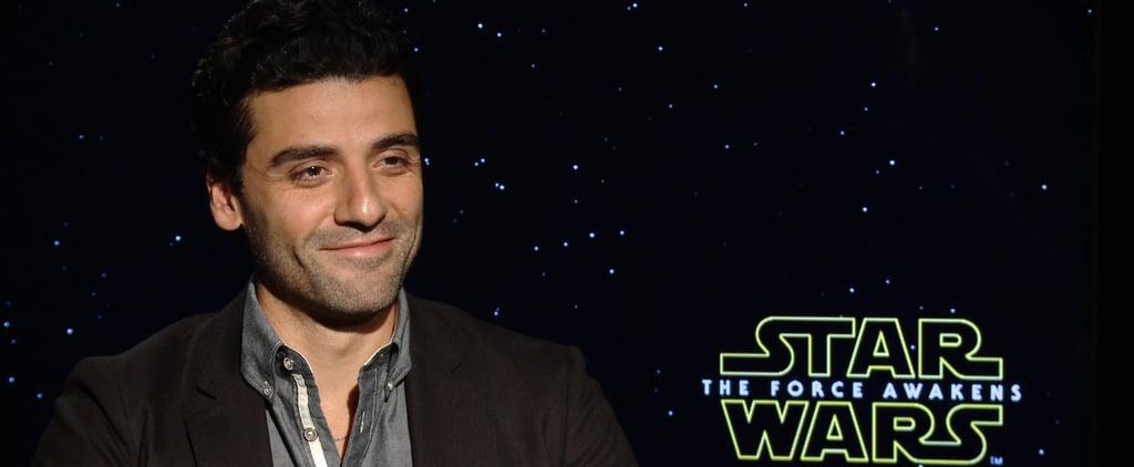 Oscar Isaac Star Wars Interview (Video)