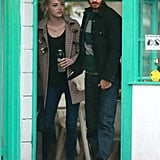 Emma Stone and Andrew Garfield spent some time together in Santa Barbara.