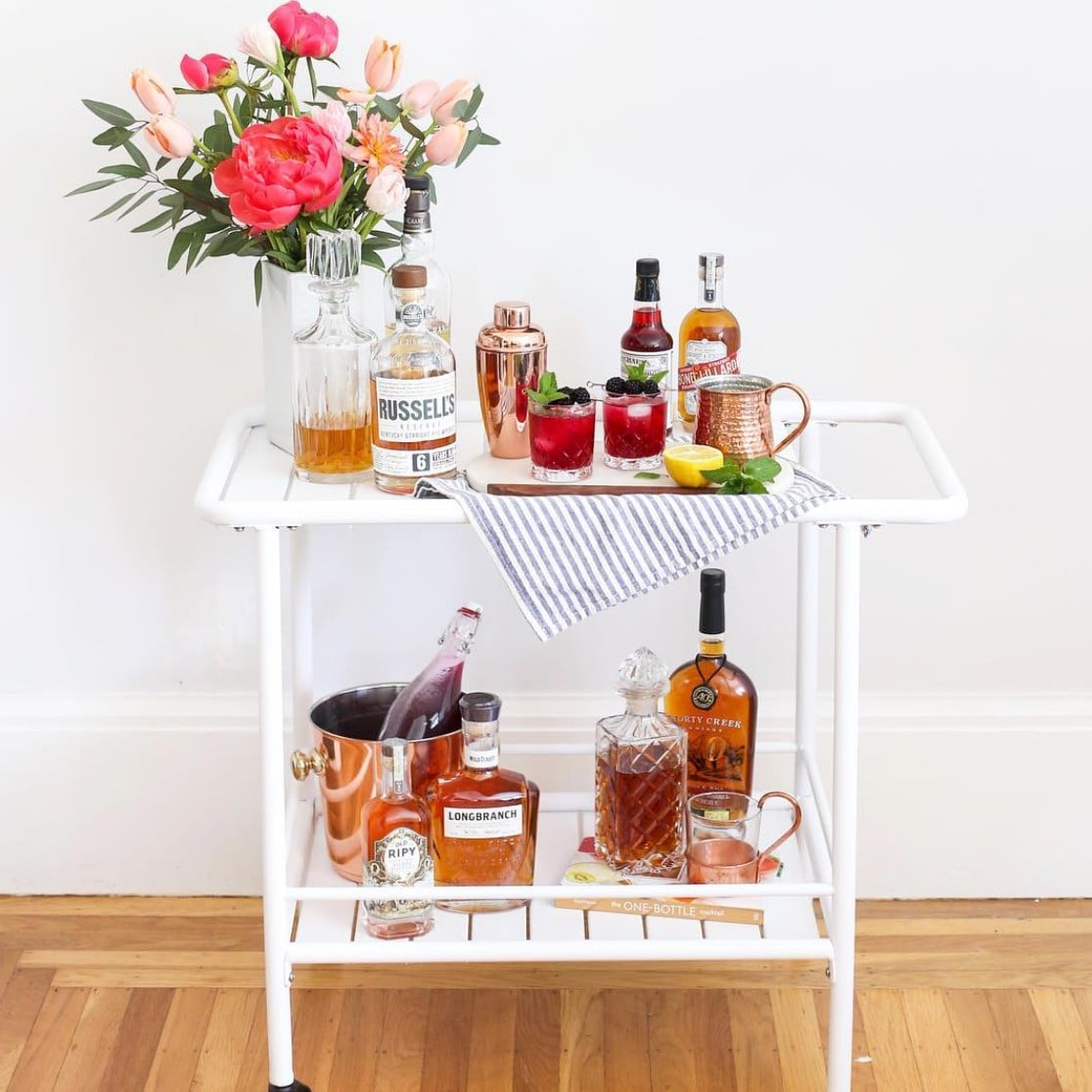 Bar Cart Styling Ideas Popsugar Home