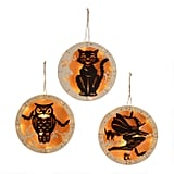 Vintage Halloween LED Light Up Hanging Decor