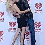 Jealous, us? Chris Pratt planted a passionate kiss on his wife Anna Faris as the pair walked the red carpet for the iHeartRadio music festival.
